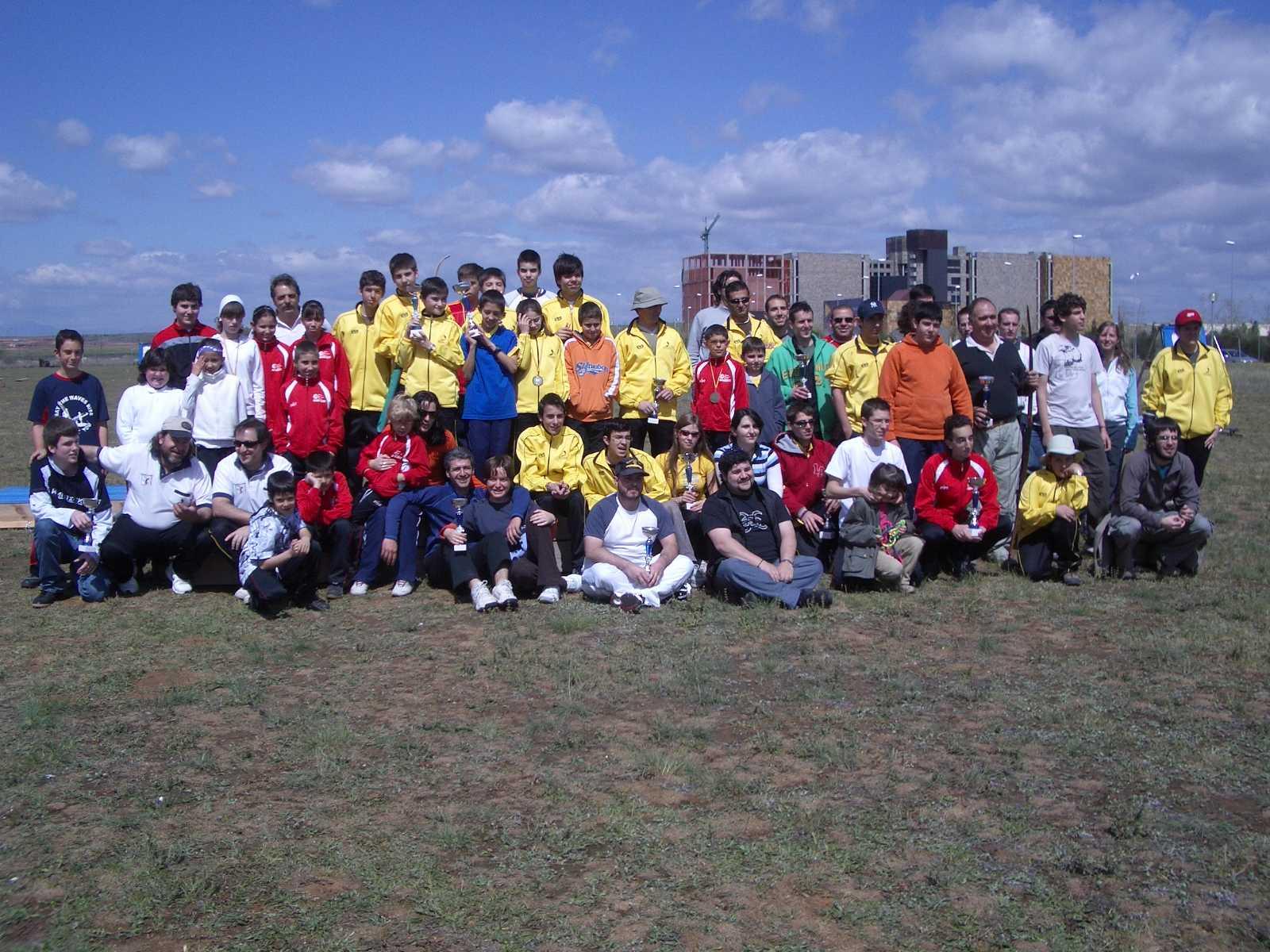 Tiro con Arco Alcalá abril 2008